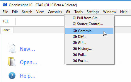 The Seven Steps to Using OpenInsight Git